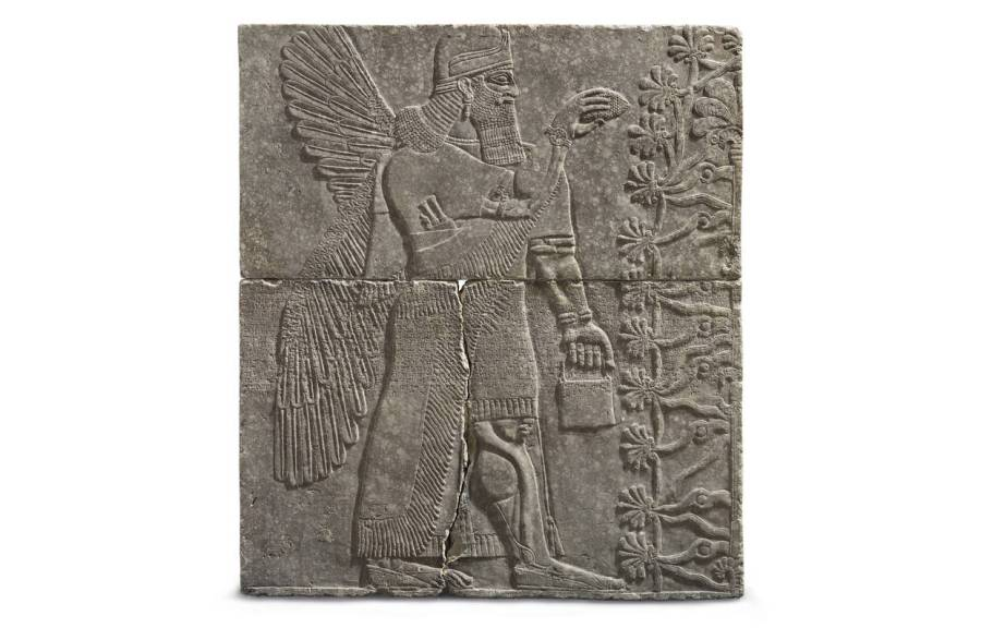 Penta   Barron s Christie s to Auction 3 000 Year Old Assyrian Sculpture to Fund Scholarship