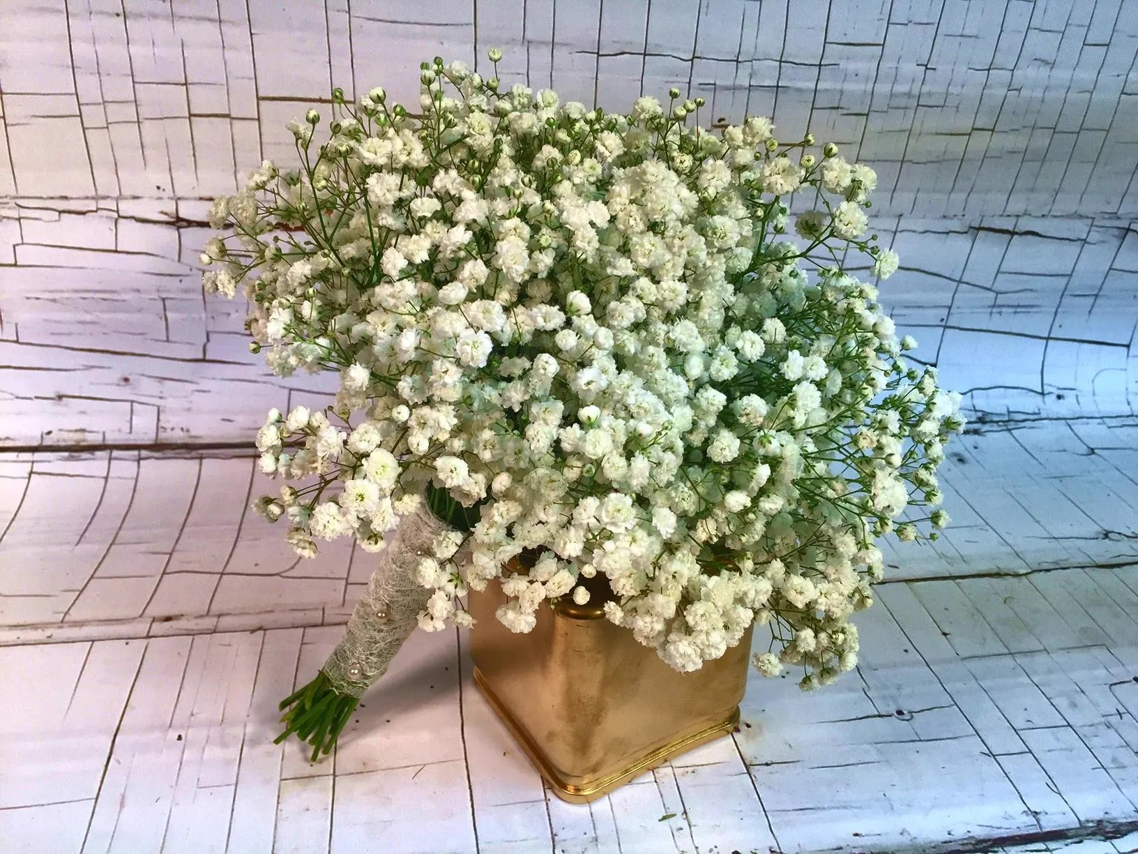 Baby S Breath Wedding Bouquets In St Louis Mo Irene S Floral Design