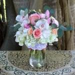 Pop Of Pink Bouquet By Venetian Flowers