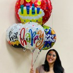 Happy Birthday Balloon Bouquet In Honolulu Hi Watanabe Floral Inc