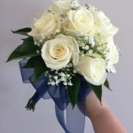 Rose And Babies Breath Bouquet In Mount Laurel Nj Flowers By Elizabeth