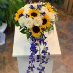 Sunflower Bridal Bouquet By Artistic Floral