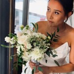 Organically Flowing Romantic Bridal Bouquet By Beethoven S Veranda