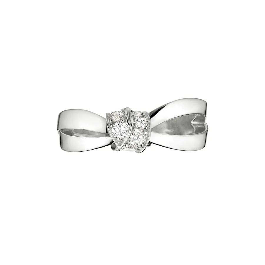 Liens Séduction ring - White Gold - Chaumet