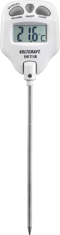 Probe Thermometer Voltcraft Det1r Temperature Reading