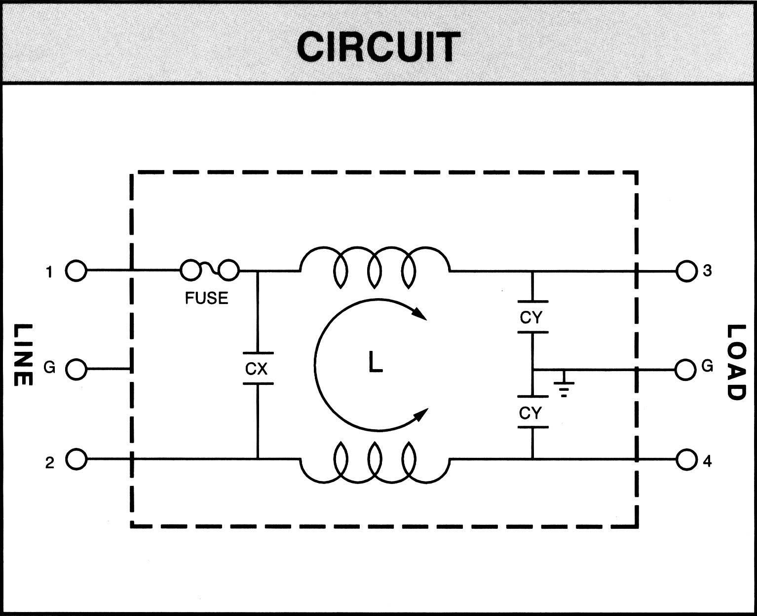 Yunpen Yl01t1 Line Filter Iec Socket Fuse 250 V Ac 1