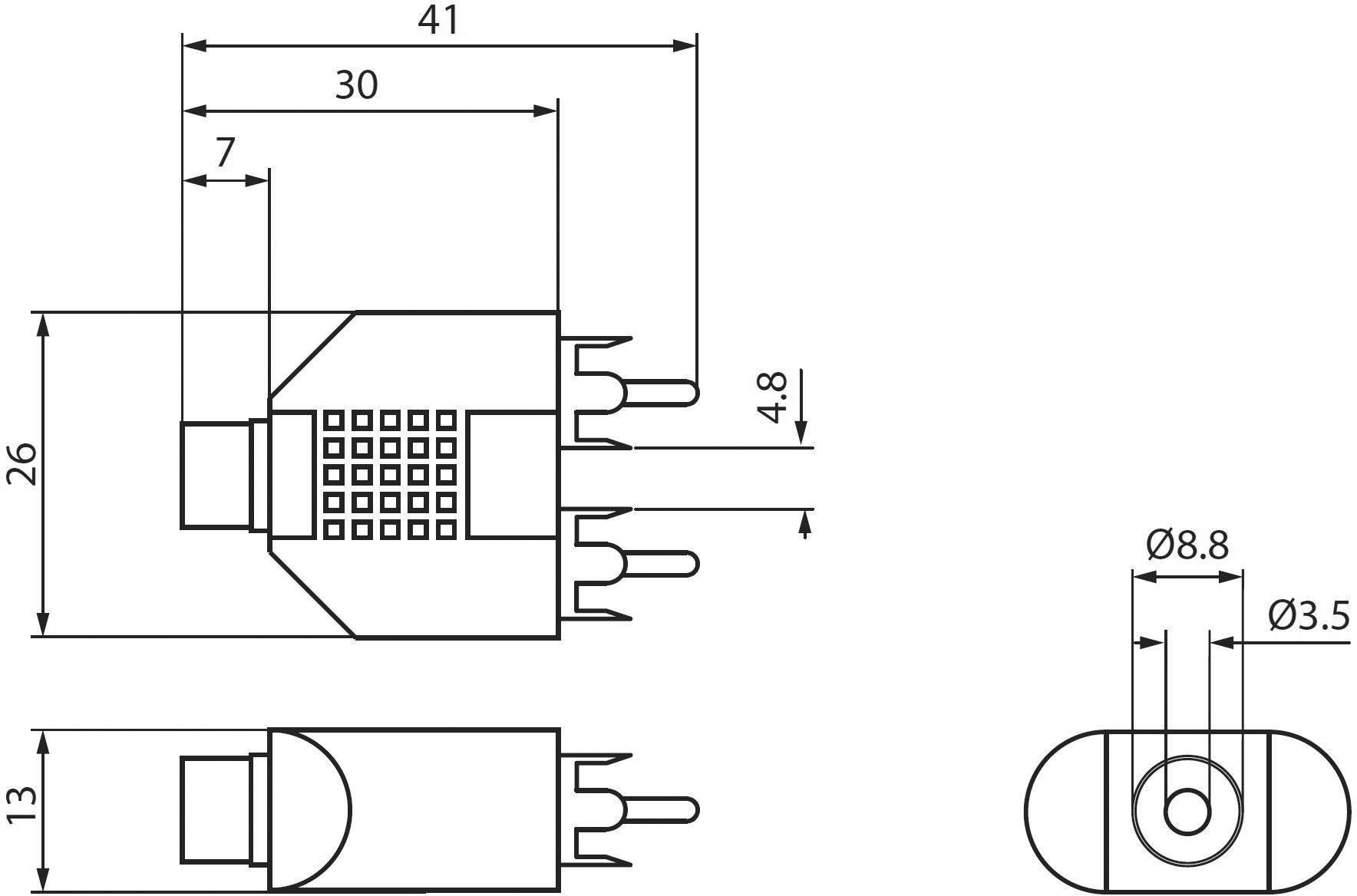 Goobay Rca Jack Audio Phono Y Adapter 2x Rca Plug