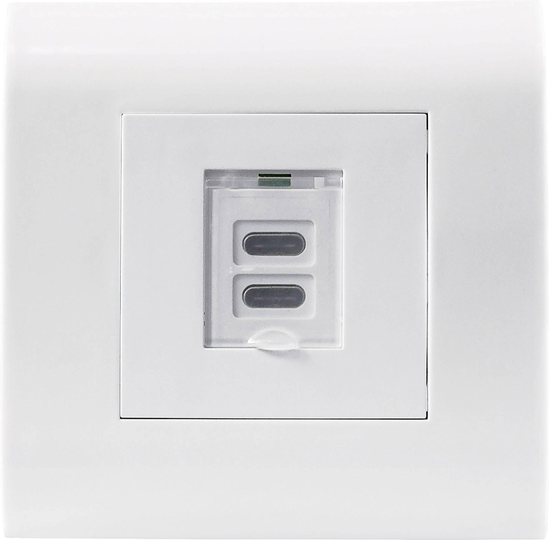 prise de courant encastrable intellinet 772235 avec usb blanc 1 pc s