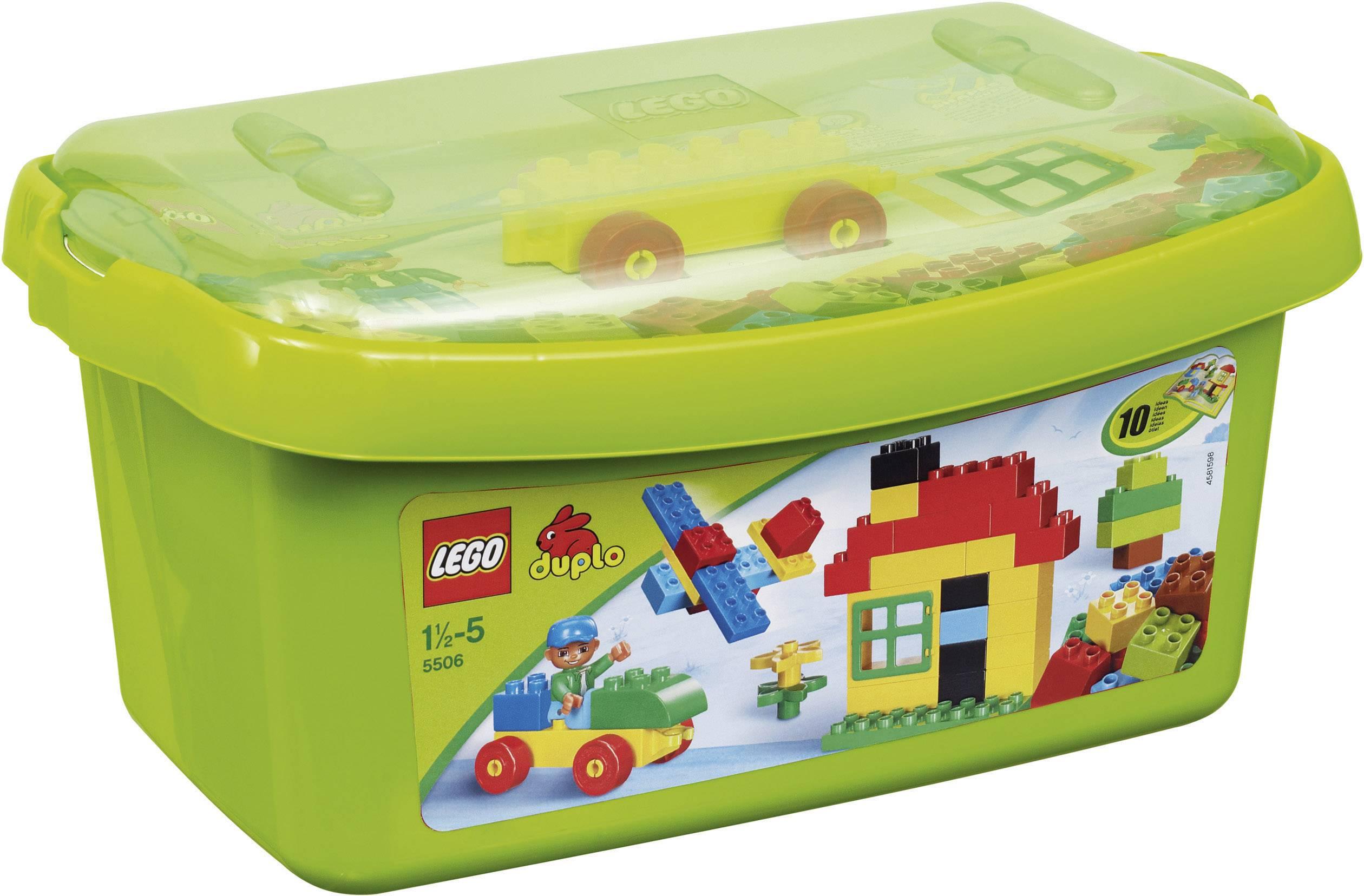 grande boite de briques lego duplo 5506