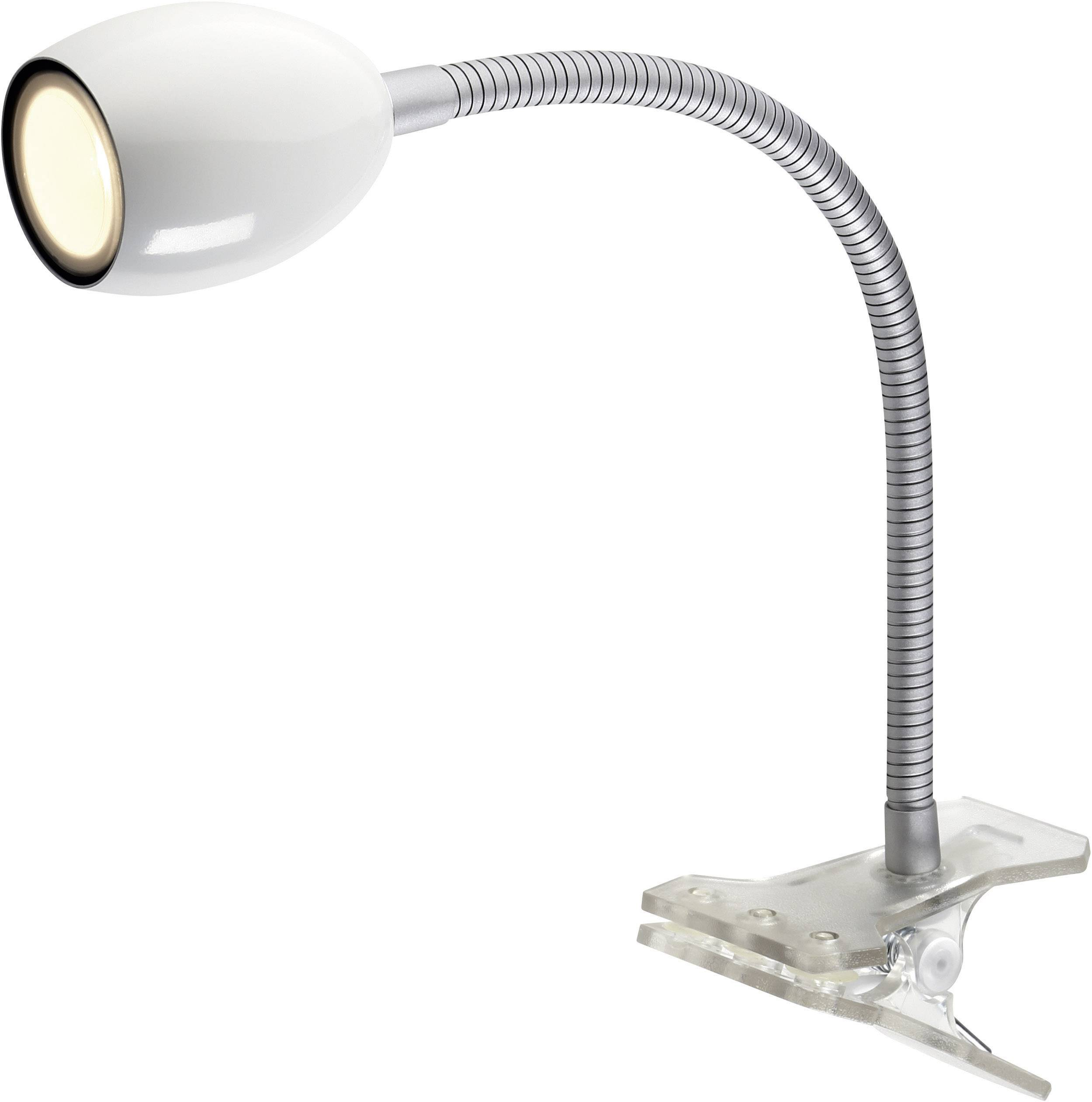 lampe led a pince 1 5 w 18x led integree nomwh 01 nomwh 01 blanc 1 pc s