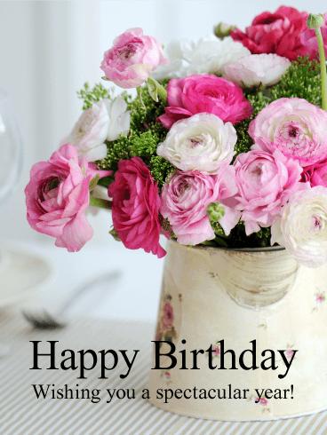 Images Flowers Happy Birthday Allofthepicts