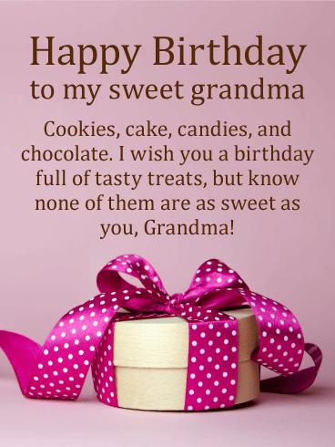 To My Special Grandma Elegant Birthday Card Birthday Amp Greeting Cards By Davia