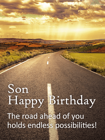 Many More Wishes For A Son Happy Birthday Wishes Card Birthday Amp Greeting Cards By Davia