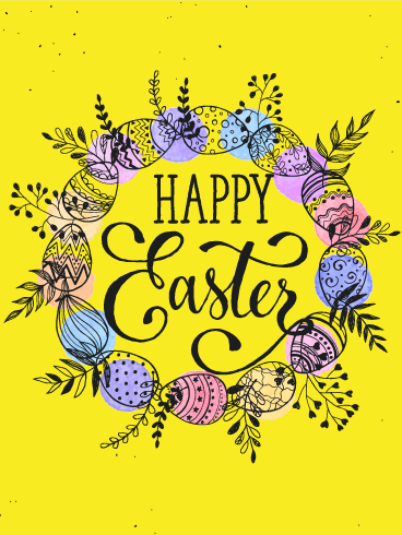 Easter Cards 2020 Happy Easter Greetings 2020 Birthday Amp Greeting Cards By Davia Free