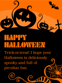 images of happy halloween greetings