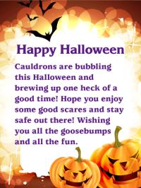 halloween wishes for nephew