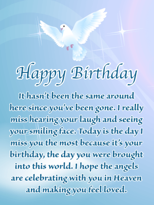 Image result for Happy Birthday In Heaven Brother