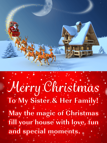 Merry Christmas Sister Images