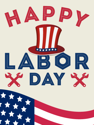 Enjoy Your Day Off! Happy Labor Day Card | Birthday ...