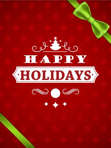 Seasons Greetings Cards 2019 Happy Holidays Greetings