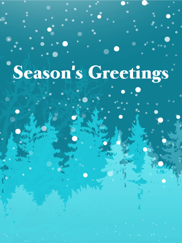 Winter Is Here Seasons Greetings Card Birthday Amp Greeting Cards By Davia