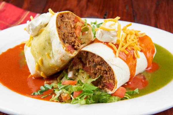 Christmas Style Beef Burrito Recipe Home Chef