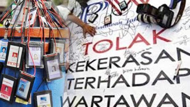 Kekerasan Terhadap Jurnalis. Copyright: Istimewa