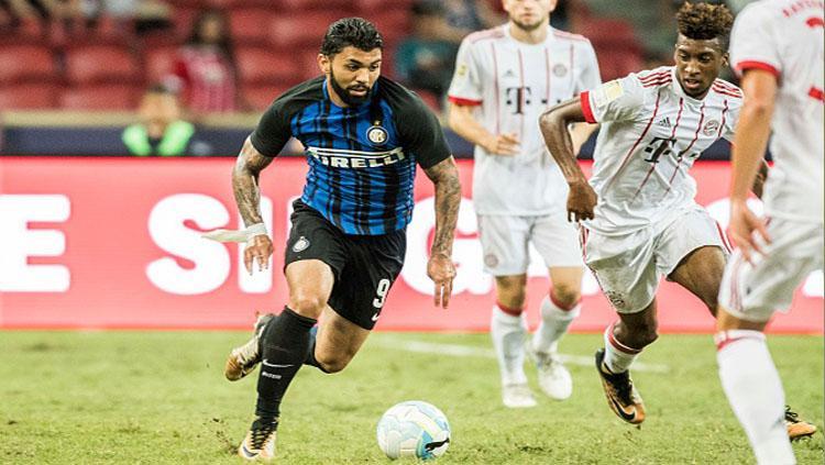 Gabriel Barbosa saat bermain untuk Inter Milan. Copyright: INDOSPORT
