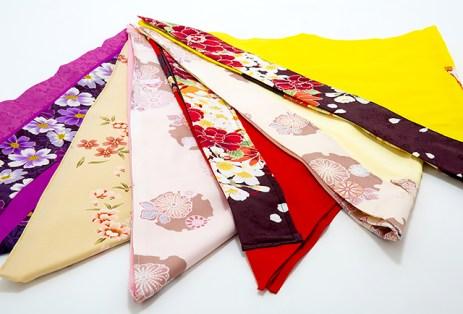 يتوفر الزي التقليدي الياباني بعدة ألوان ليناسب جميع الأذواق