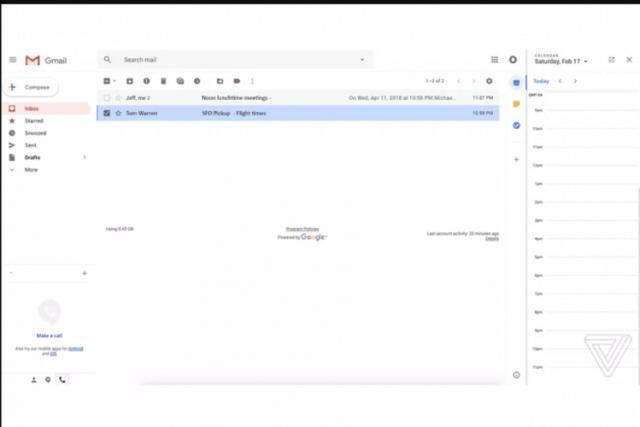Wajah Baru Gmail Akan Dirombak Google