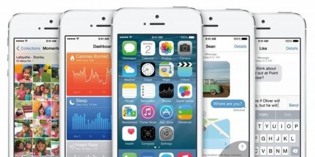 Antarmuka sistem operasi Apple iOS 8