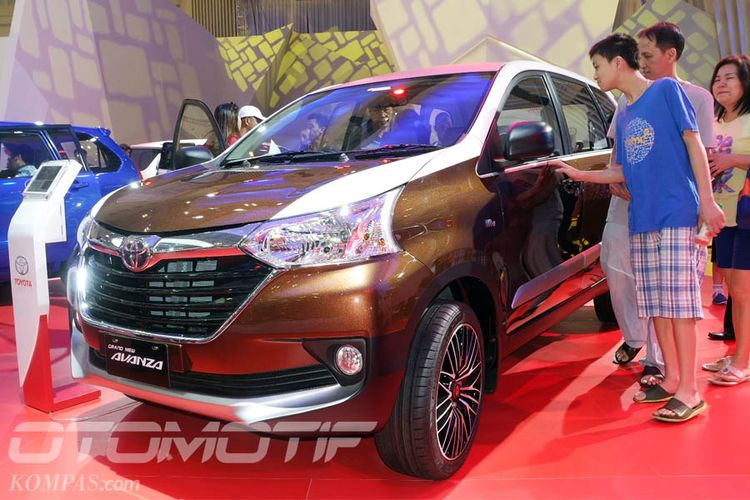 Toyota Grand New Avanza di Gaikindo Indonesia International Auto Show (GIIAS) 2018.