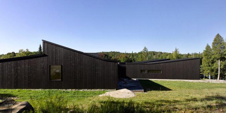 MG2 rumah cat warna hitam