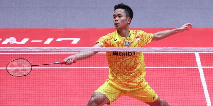 Image result for anthony sinisuka ginting indonesia masters 2019
