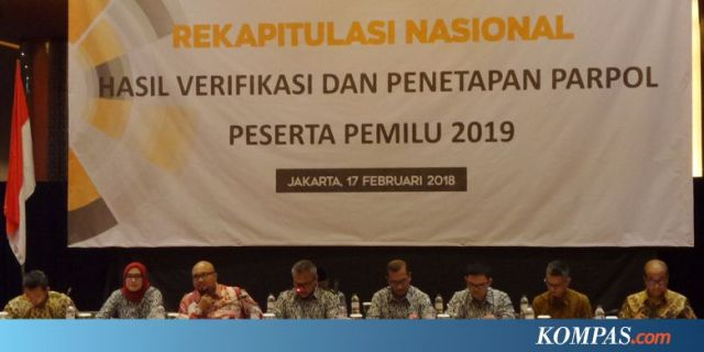 Hari Ini, Partai Politik Peserta Pemilu 2019 Ambil Nomor ...