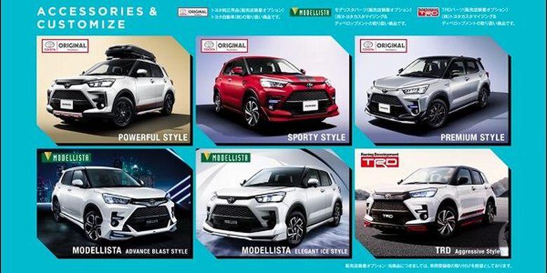 Toyota Raize, kembaran Daihatsu Rocky yang siap meluncur