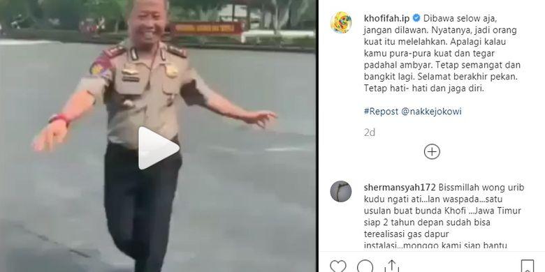 Viral Postingan Lucu Instagram Khofifah Kamu Pura Pura Kuat