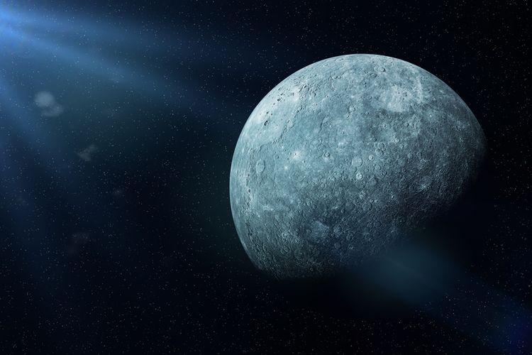 Merkurius, Planet Bintang Fajar Halaman all - Kompas.com