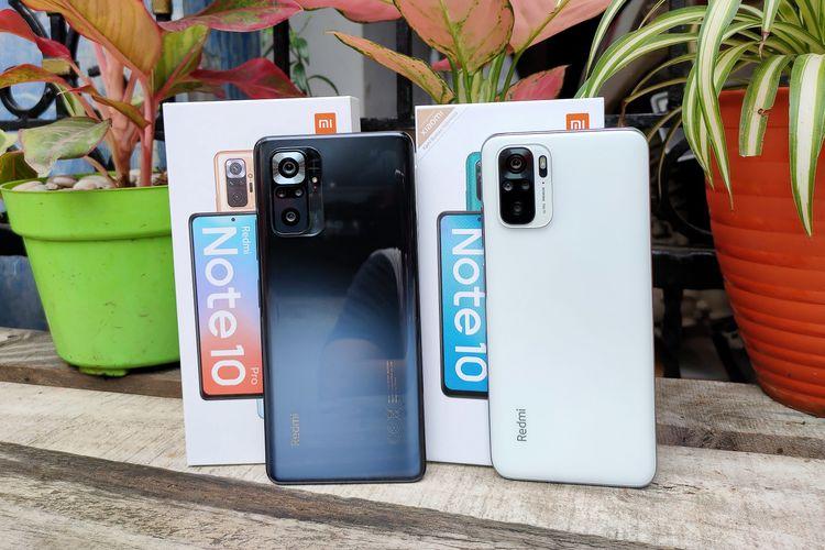 Xiaomi Redmi Note 10 Dan Redmi Note 10 Pro Meluncur Di Indonesia Ini Harganya Halaman All Kompas Com