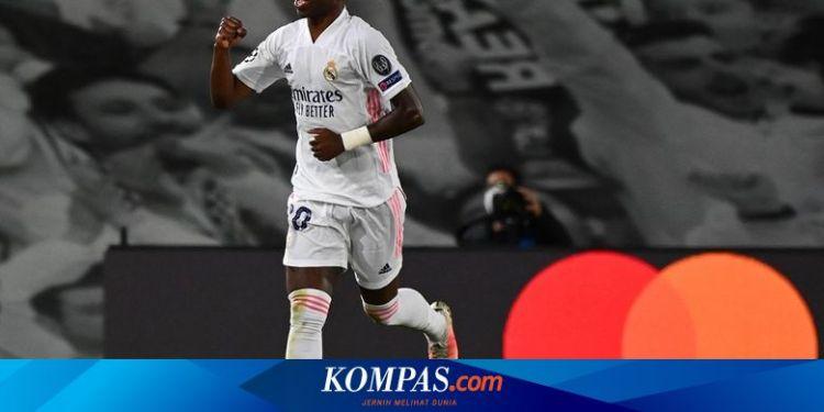 Hasil Real Madrid Vs Liverpool, Dwigol Vinicius Tumbangkan ...