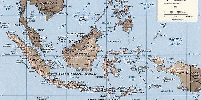 Negara ini memiliki perairan sangat indah dengan luas 3.257.483 km 2. Jenis Dan Unsur Unsur Peta