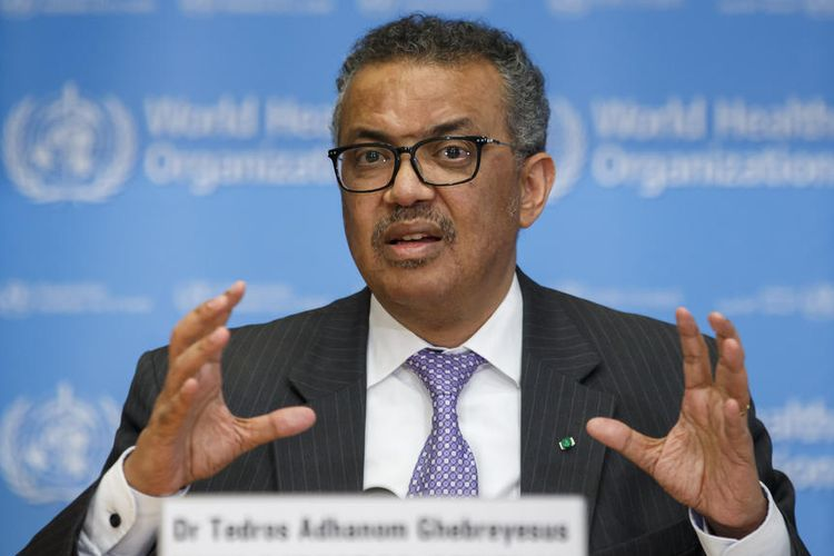 Tedros Adhanom Ghebreyesus, Director General of the World Health Organization (WHO) stated that Covid-19 is a global pandemic EPA-EFE / SALVATORE IN NOLFI
