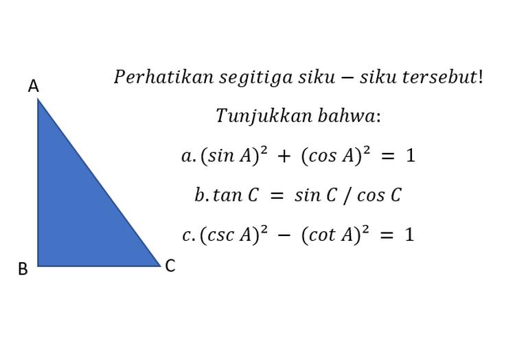 Contoh Soal Tentang Trigonometri Kelas 10