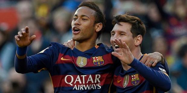 Neymar, Messi Cetak Gol saat Barca Bekuk Roma 3-0