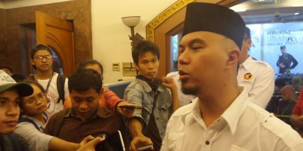 Ahmad Dhani: Pria Jantan Pilih Prabowo