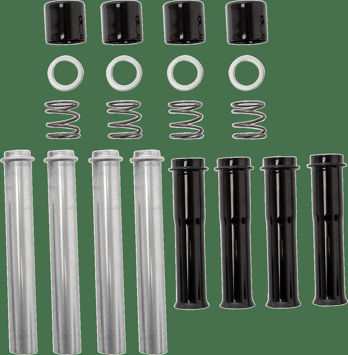 S Amp S Gloss Black Engine Pushrod Tubes For 99 19 Harley