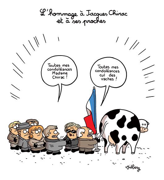 L'hommage à Jacques Chirac et à ses proches – L'actu en patates