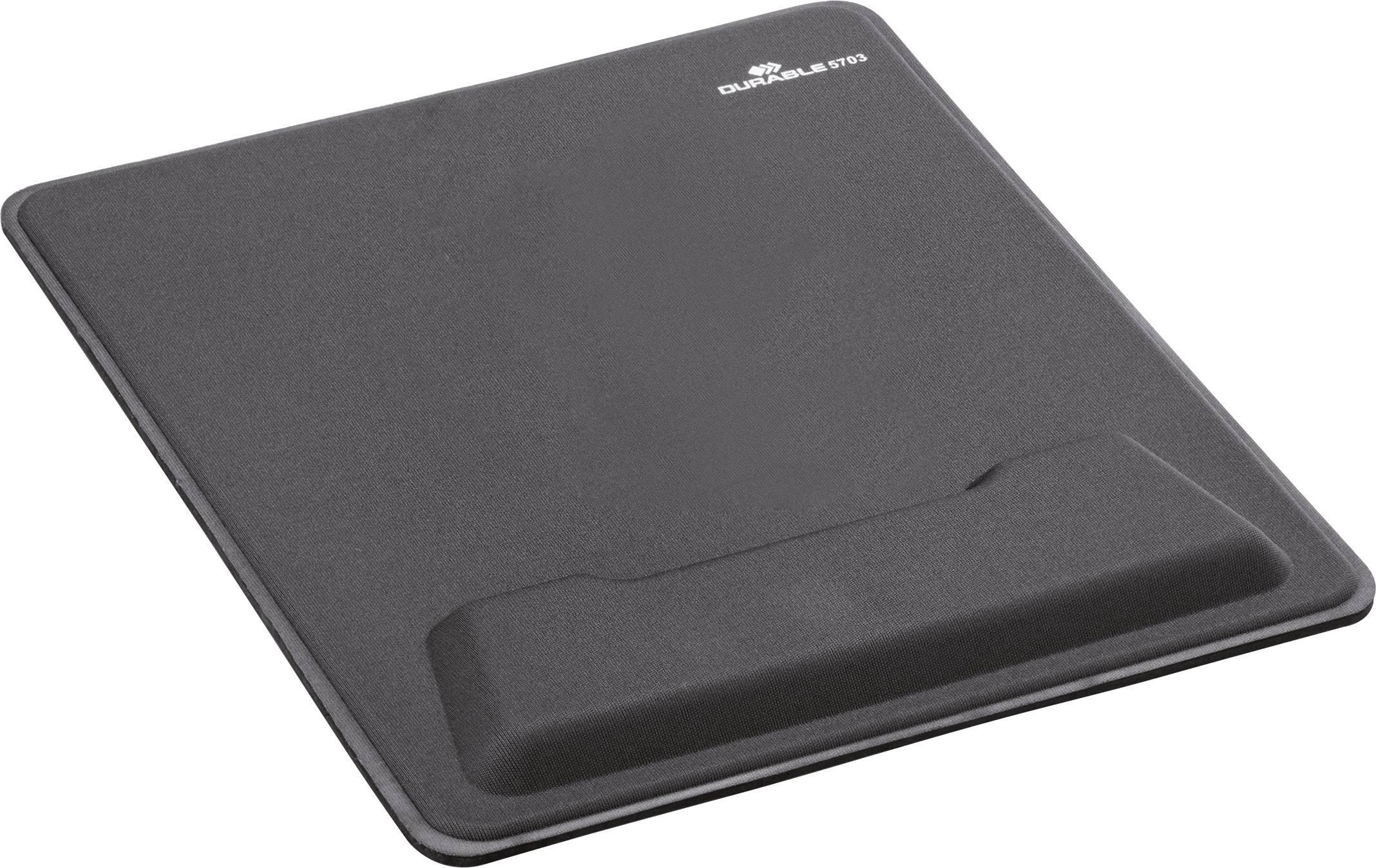 durable mouse pad ergotop 5703 mauspad handballenauflage anthrazit b x h x t 310 x 21 x 257mm