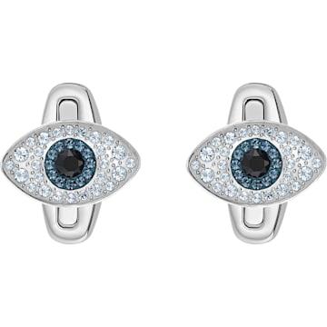 Gemelli Unisex Evil Eye, multicolore, acciaio inossidabile - Swarovski, 5506081