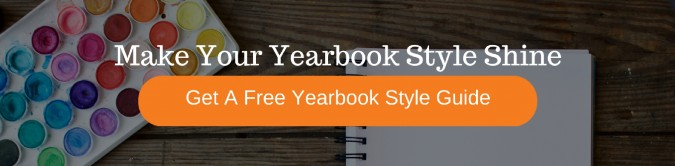 get a free yearbook style guide template